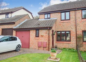 Thumbnail 4 bed semi-detached house for sale in Woodbury Avenue, East Grinstead, West Sussex