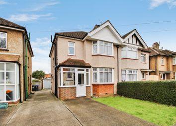 Thumbnail 3 bed semi-detached house for sale in Hamilton Avenue, Surbiton, Surrey