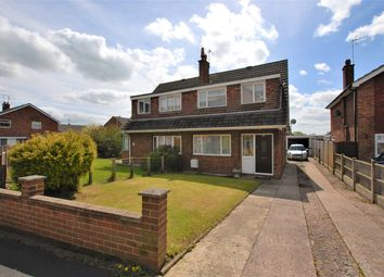 Thumbnail 3 bed semi-detached house for sale in Riversfield Drive, Rocester, Uttoxeter