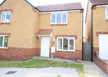 Thumbnail 2 bedroom semi-detached house for sale in Cemetery Road, Langold, Worksop