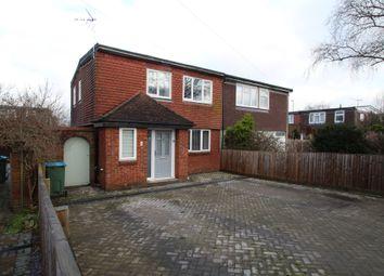Thumbnail 3 bed semi-detached house for sale in Dunsham Lane, Aylesbury