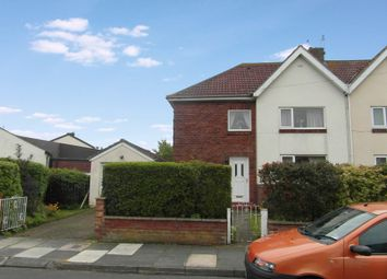 Thumbnail 4 bed semi-detached house for sale in Blagdon Crescent, Nelson Village, Cramlington