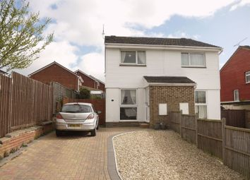 Thumbnail 2 bed semi-detached house for sale in Newbury Drive, Freshbrook, Swindon