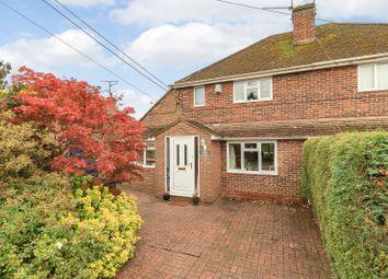 Thumbnail 3 bed semi-detached house for sale in Hazel Road, Ash Green, Aldershot
