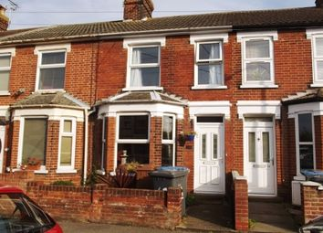 Thumbnail 2 bedroom terraced house to rent in Maidstone Road, Felixstowe