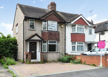 Thumbnail 3 bedroom semi-detached house to rent in Denham Way, Maple Cross, Hertfordshire