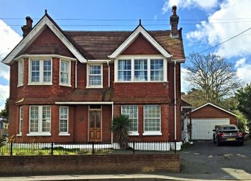 Thumbnail 6 bed detached house for sale in The Avenue, Freshwater, Totland Bay