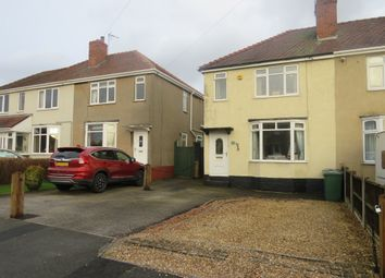 Thumbnail 2 bed semi-detached house for sale in Marina Crescent, Hednesford, Cannock