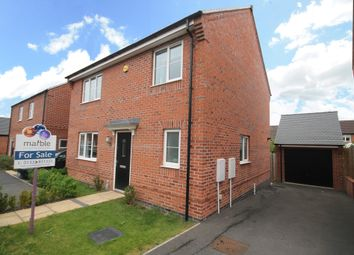 Thumbnail 4 bed detached house for sale in Spitfire Road, Castle Donington, Derby