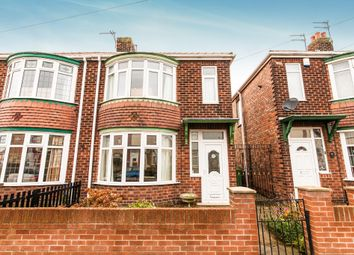 Thumbnail 3 bed semi-detached house for sale in Peebles Avenue, Hartlepool