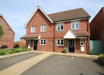 Thumbnail 3 bed semi-detached house for sale in Edinburgh Drive, Staines-Upon-Thames