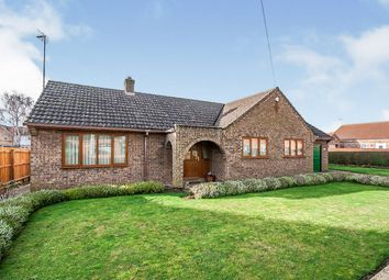 Thumbnail 3 bed detached bungalow for sale in Elm Low Road, Elm, Wisbech