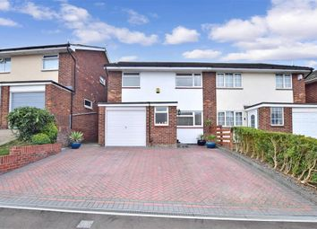 3 bed semi-detached house for sale in St. Dunstans Drive, Gravesend, Kent DA12