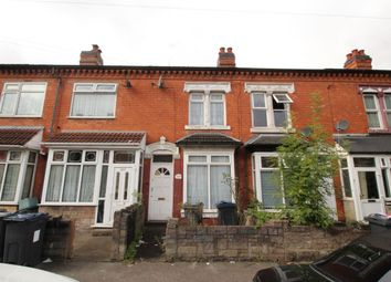 Thumbnail 3 bed terraced house for sale in Knowle Road, Sparkhill, Birmingham