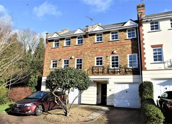 Thumbnail 4 bed town house for sale in Lancaster Drive, Camberley, Surrey