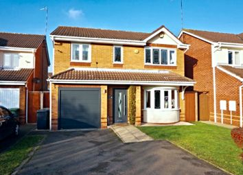 Thumbnail 4 bed detached house for sale in Campbell Close, Nuneaton