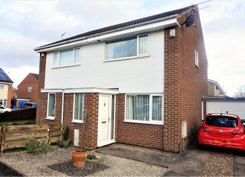 Thumbnail 2 bed semi-detached house for sale in Southwold Place, Cramlington