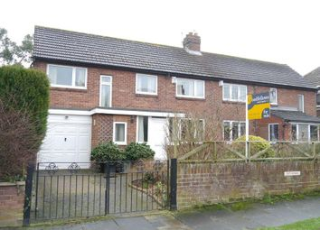 Thumbnail 3 bed semi-detached house for sale in Ridgely Drive, Ponteland, Newcastle Upon Tyne