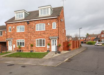Thumbnail 4 bed town house for sale in Spinkhill View, Renishaw, Sheffield