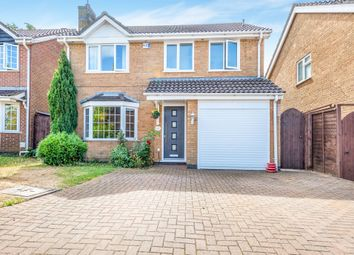 Thumbnail 4 bed detached house for sale in Summerfields, West Hunsbury, Northampton