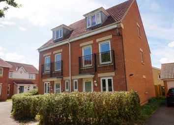 Thumbnail 4 bed town house for sale in Osborne Heights, East Cowes