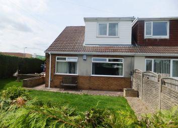 Thumbnail 3 bedroom semi-detached bungalow for sale in Lawns Road, Kirkby-In-Ashfield