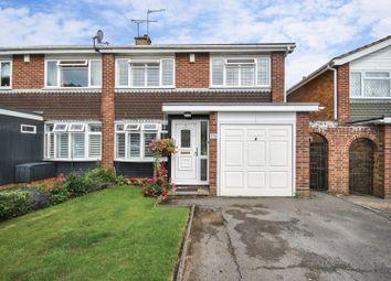 Thumbnail 3 bed semi-detached house for sale in Vantorts Road, Sawbridgeworth, Hertfordshire