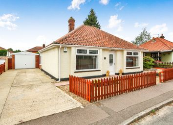 Thumbnail 2 bed detached bungalow for sale in Boundary Avenue, Hellesdon, Norwich