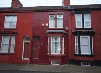 Thumbnail 4 bed terraced house for sale in Oxton Street, Liverpool