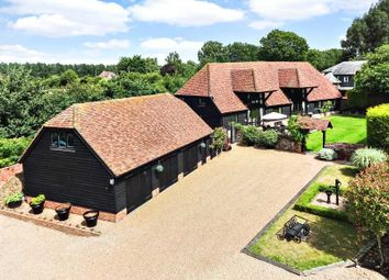 Thumbnail 5 bed detached house for sale in The Barn, Place Farm, Hartlip, Sittingbourne