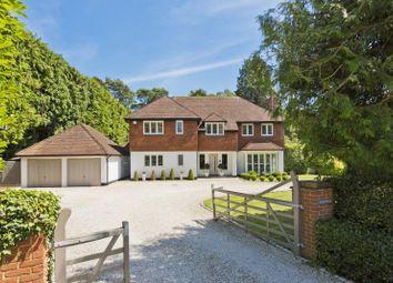 Thumbnail 5 bed terraced house to rent in The Fairway, Weybridge, Surrey