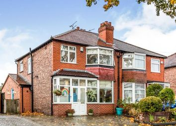 Thumbnail 3 bed semi-detached house for sale in Rydal Avenue, Sale, Cheshire, Greater Manchester