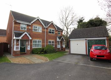 Thumbnail 3 bed semi-detached house for sale in Dunnock Close, Bottesford, Scunthorpe