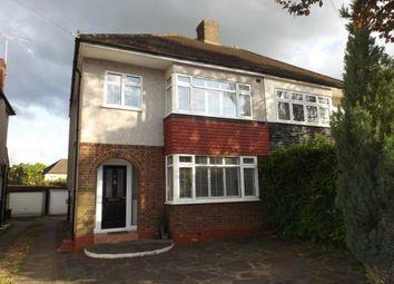 Thumbnail 3 bedroom semi-detached house for sale in Fleet Avenue, Cranham, Upminster