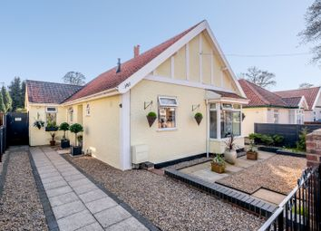Thumbnail 3 bed bungalow for sale in Bowthorpe Road, Norwich