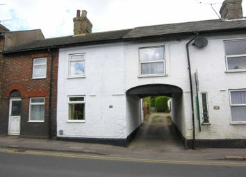 Thumbnail 2 bed terraced house for sale in Poplars End, Park Road, Toddington, Dunstable