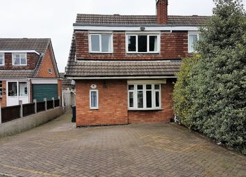 Thumbnail 3 bed semi-detached house to rent in Parkview Crescent, Walsall