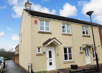 Thumbnail 3 bedroom end terrace house for sale in Cookham Road, Swindon