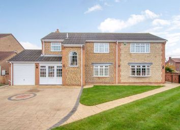 Thumbnail 3 bed detached house for sale in Colster Way, Colsterworth, Grantham