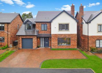 Thumbnail 4 bed detached house for sale in Audlem Road, Hankelow, Crewe