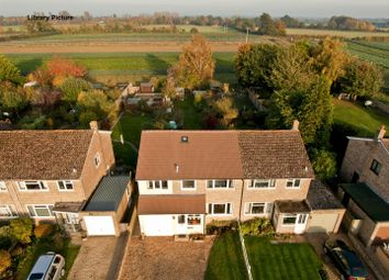 Thumbnail 4 bed semi-detached house for sale in Hinton Waldrist, Faringdon