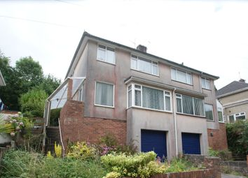 Thumbnail 3 bed semi-detached house for sale in Occombe Valley Road, Preston, Paignton
