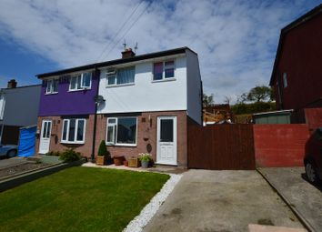 Thumbnail 3 bed semi-detached house for sale in Meadow Rise, Brynna, Pontyclun