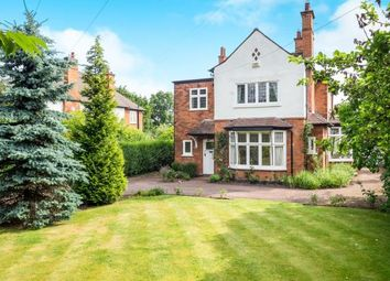 Thumbnail 5 bed detached house for sale in Melton Road, West Bridgford, Nottingham, Nottinghamshire