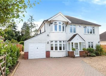 Thumbnail 4 bed detached house for sale in Reading Road, Winnersh, Wokingham
