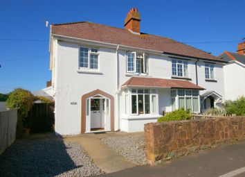 Thumbnail 3 bedroom semi-detached house to rent in Furzeland Road, Porlock, Minehead