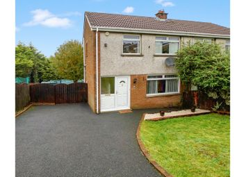 Thumbnail 3 bedroom semi-detached house for sale in Monea Way, Bangor