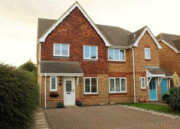 Thumbnail 3 bed semi-detached house for sale in Oakham Drive, Lydd
