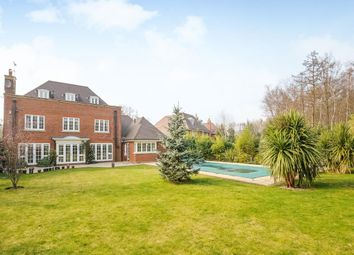 Thumbnail 6 bed detached house to rent in Fox Wood, Burwood Park, Hersham, Walton-On-Thames