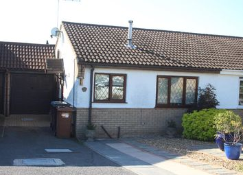 Thumbnail 2 bed semi-detached bungalow for sale in Heath Road, Market Bosworth, Nuneaton